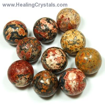 Discontinued - Leopardskin Jasper Sphere (China)