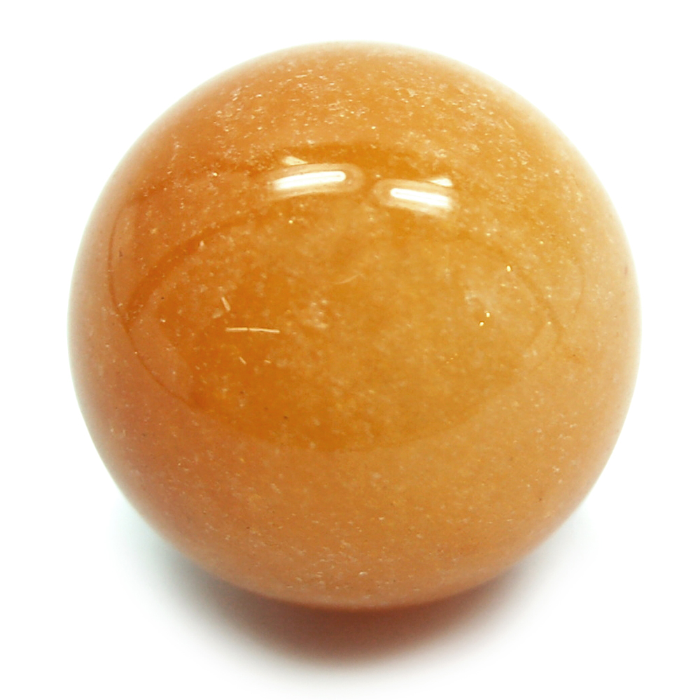 Discontinued - Orange Aventurine Spheres (China)