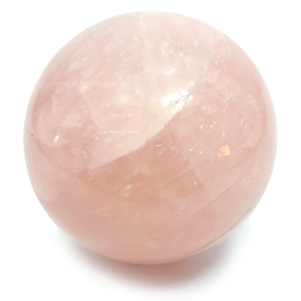 Sphere - Rose Quartz Crystal Spheres photo 6