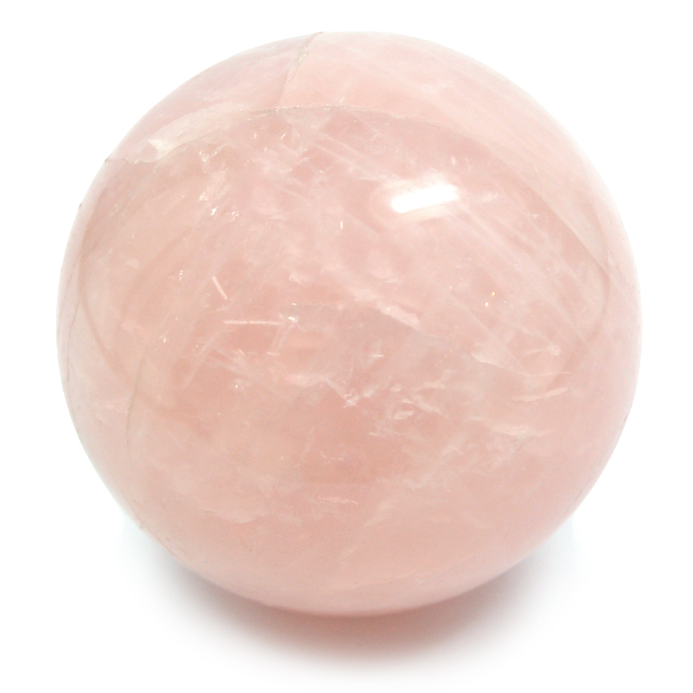Sphere - Rose Quartz Crystal Spheres photo 7