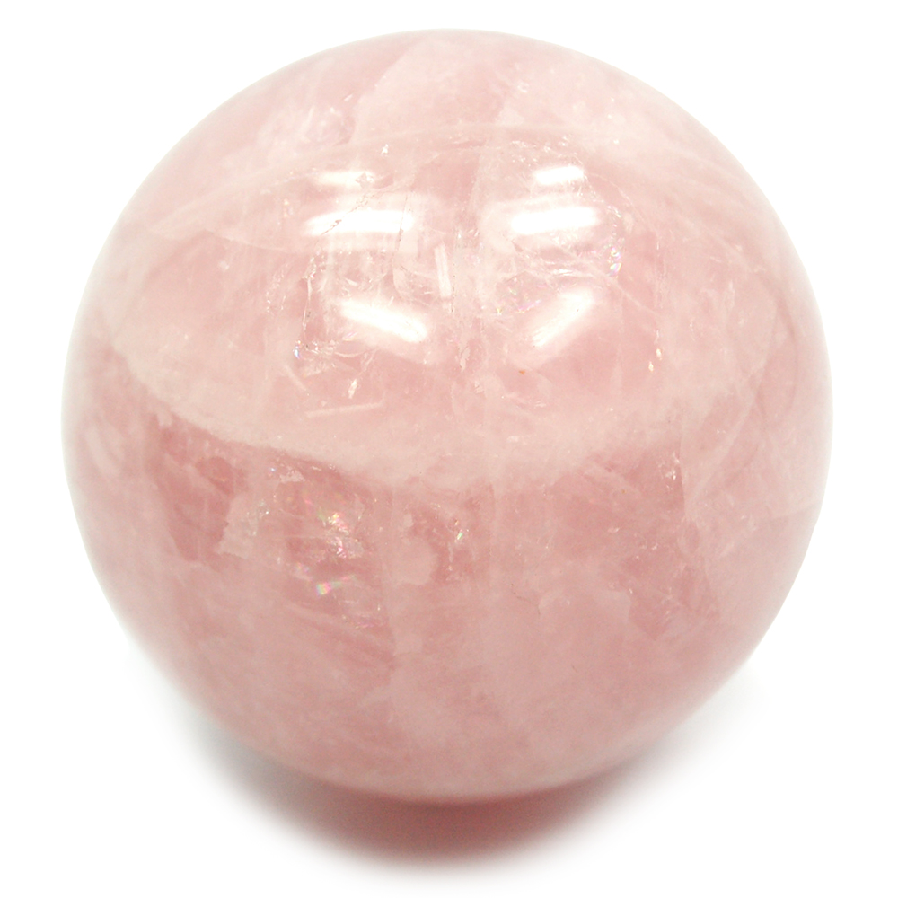 Sphere - Rose Quartz Crystal Spheres photo 3