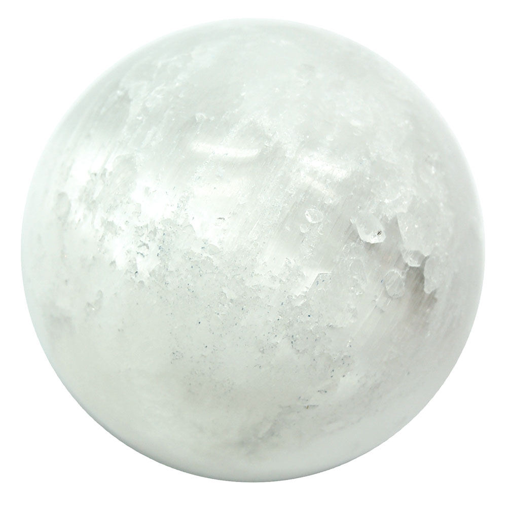 Sphere - Selenite Crystal Spheres photo 3