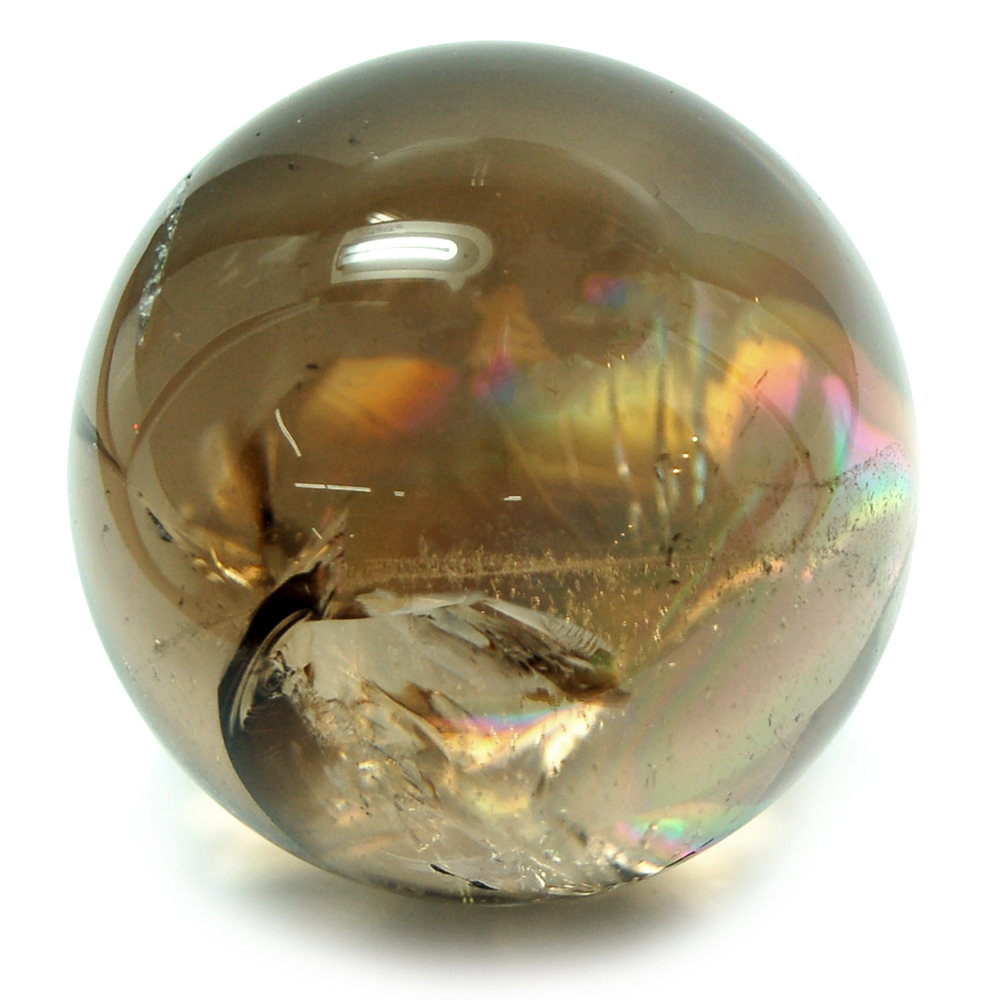 "Sphere - Smokey Quartz Spheres ""Extra\"" - Dark (Brazil)"