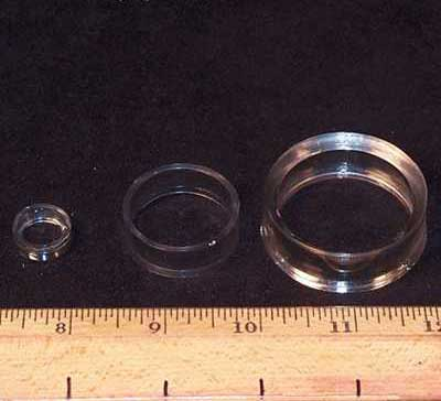 Sphere Stands - Clear Plastic Ring Stands photo 5