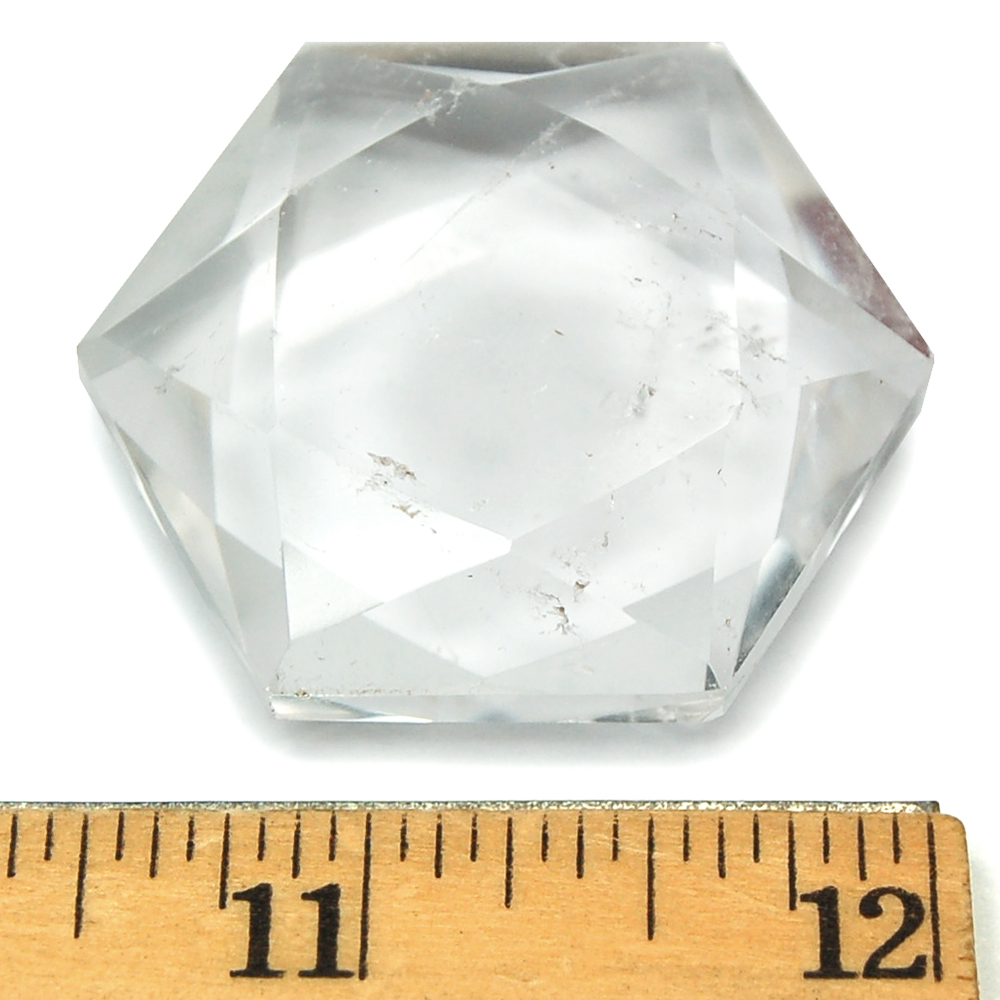 Star of David - Clear Quartz Stars photo 4
