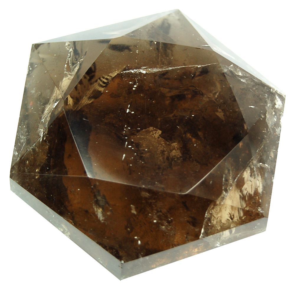 Star of David - Smokey Quartz Star of David (Dark)