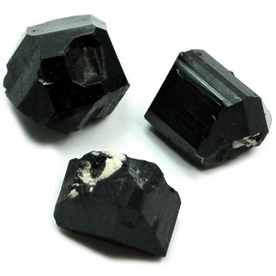 Tourmaline - Black Tourmaline Assortment (Namibia)