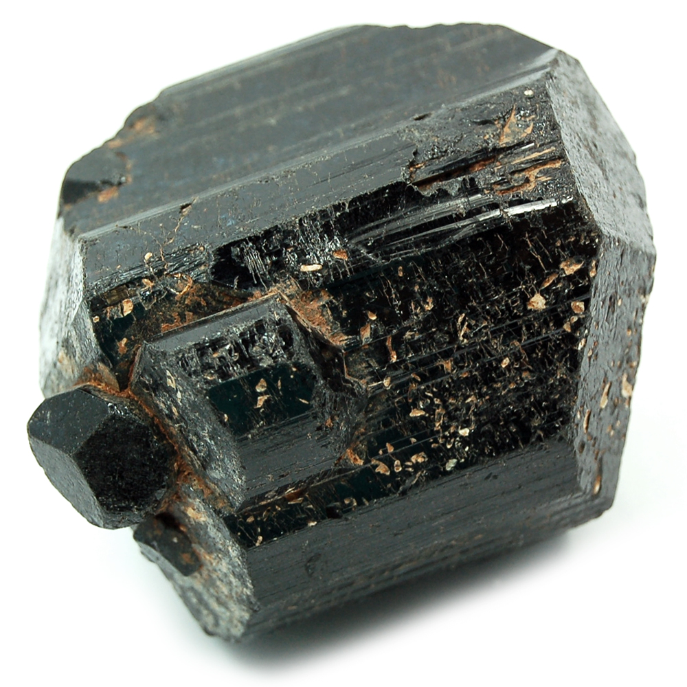 Tourmaline - Black Tourmaline Partial DT Rods (India)