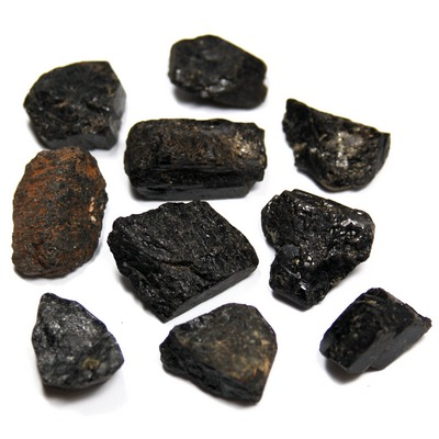 Tourmaline - Black Tourmaline Chips/Chunks (Brazil)