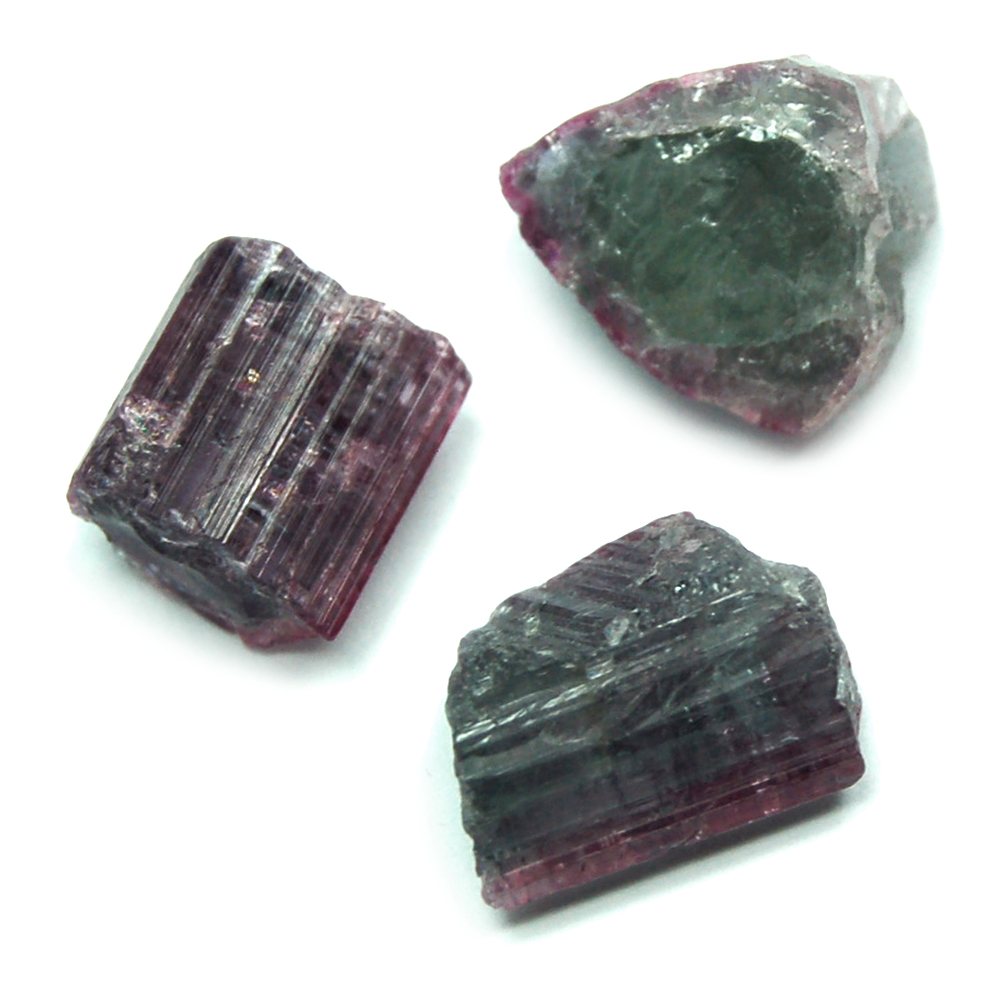 Tourmaline Crystals - Blue-Green Tourmaline Crystal Chips photo