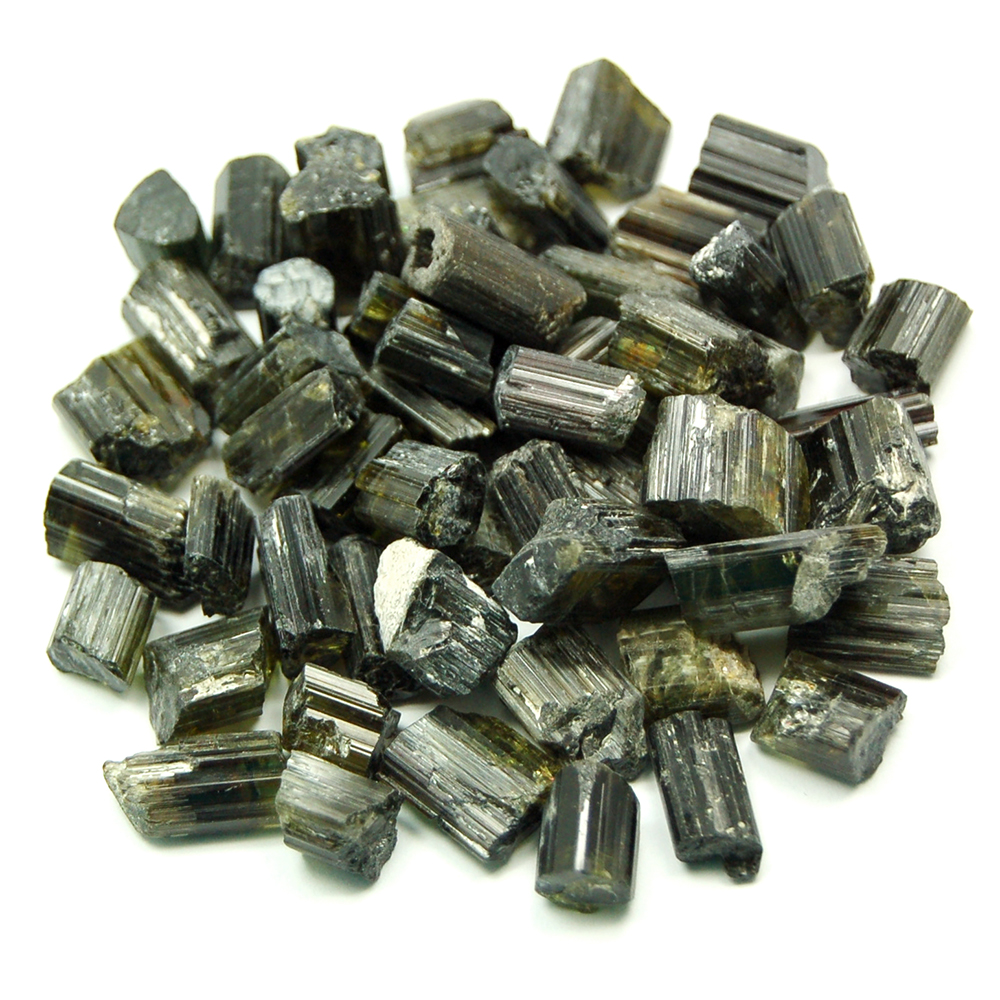 "Tourmaline - Dark Green Tourmaline Rods ""Extra/A"" (Brazil)"