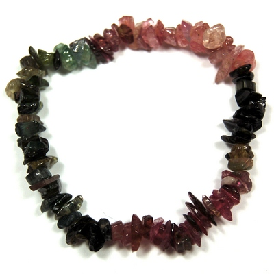 Bracelets - Tourmaline Multi Single Strand Bracelet (India)
