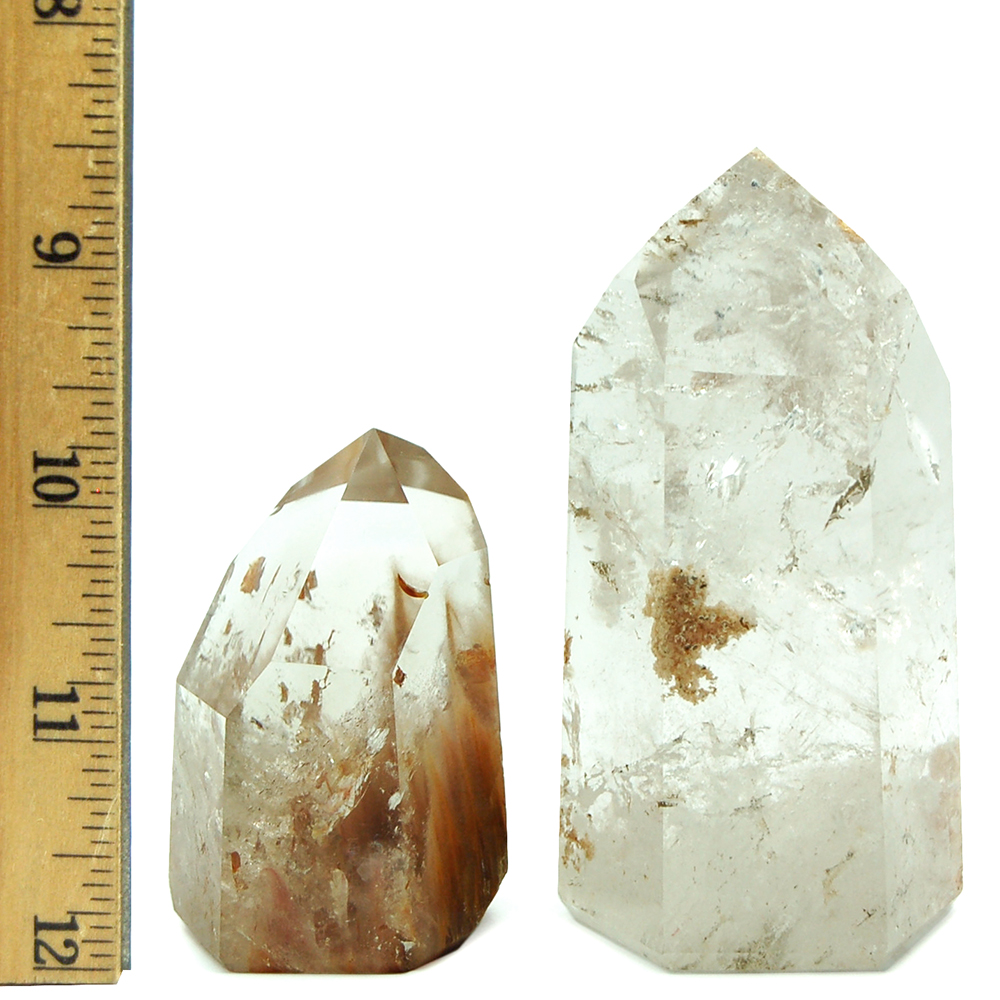 Tower - Clear Quartz with Inclusions (Inclusion Quartz) photo 4