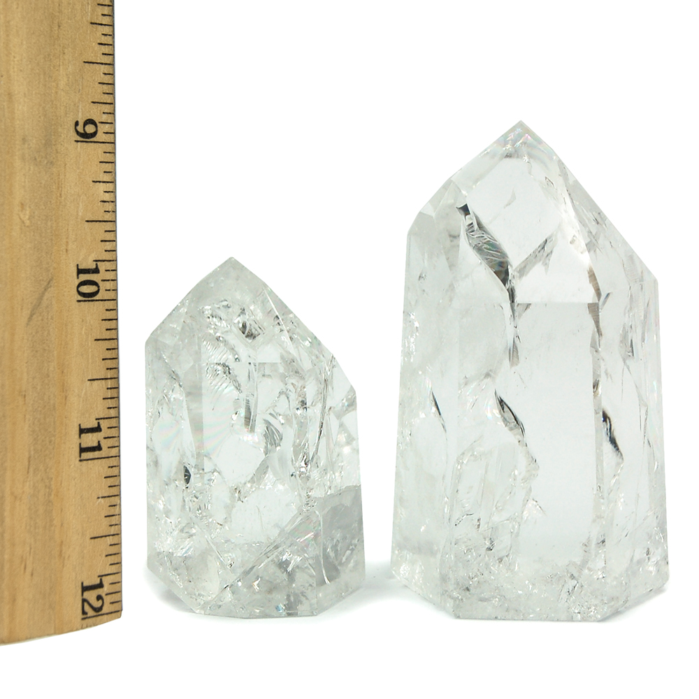 "Towers - ""Rainbow\"" Quartz Point/Tower \""Extra\"" (Brazil)"