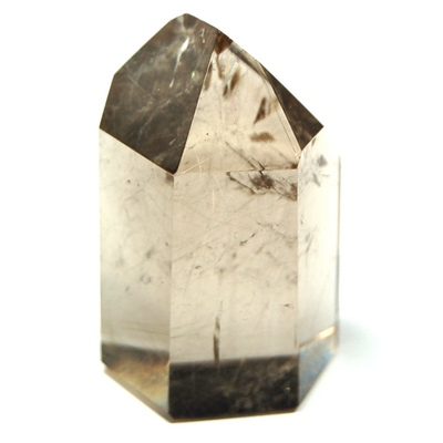 "Towers - Rutilated Light Smokey Quartz Tower ""Extra"" (Brazil)"