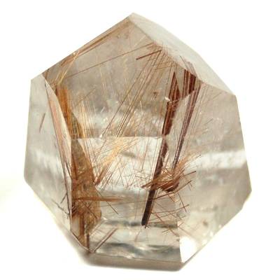 "Towers - Rutilated Clear Quartz Tower ""Gold Rutile\"" (Brazil)"