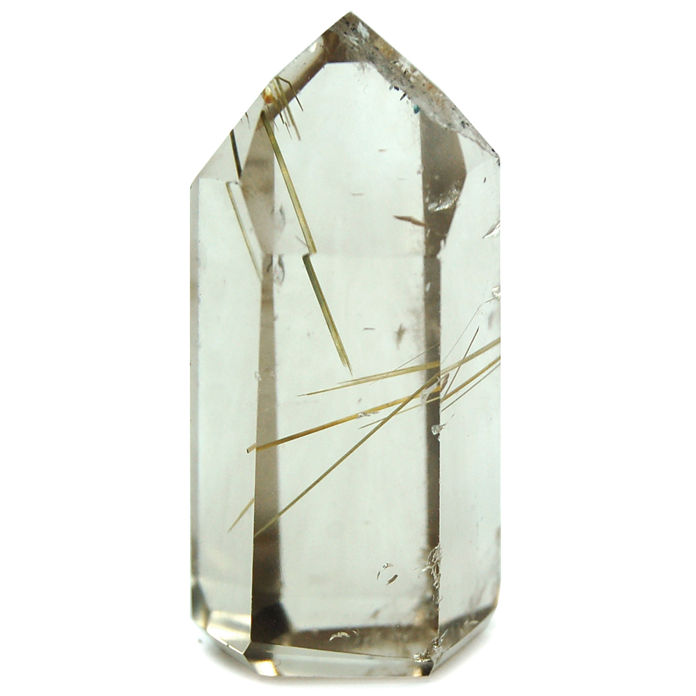 "Towers - Rutilated Smokey Quartz Mini-Tower ""Extra"" (Brazil)"