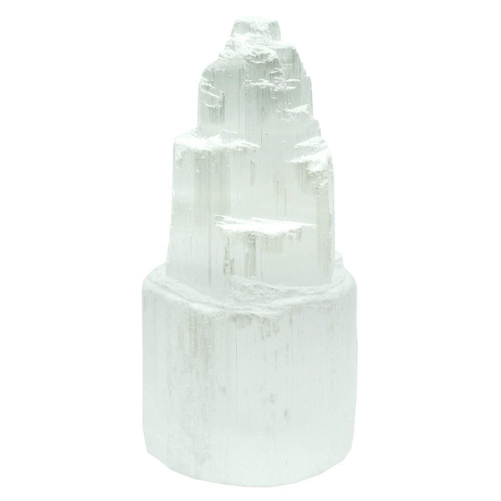 "Towers - Selenite ""Skyscraper"" Tower (Morocco)"