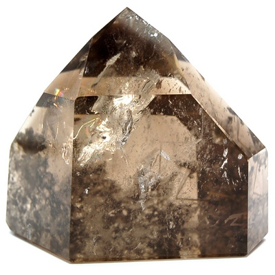 "Towers - Smokey Inclusion Quartz Tower (Dark) ""A\"" (Brazil)"