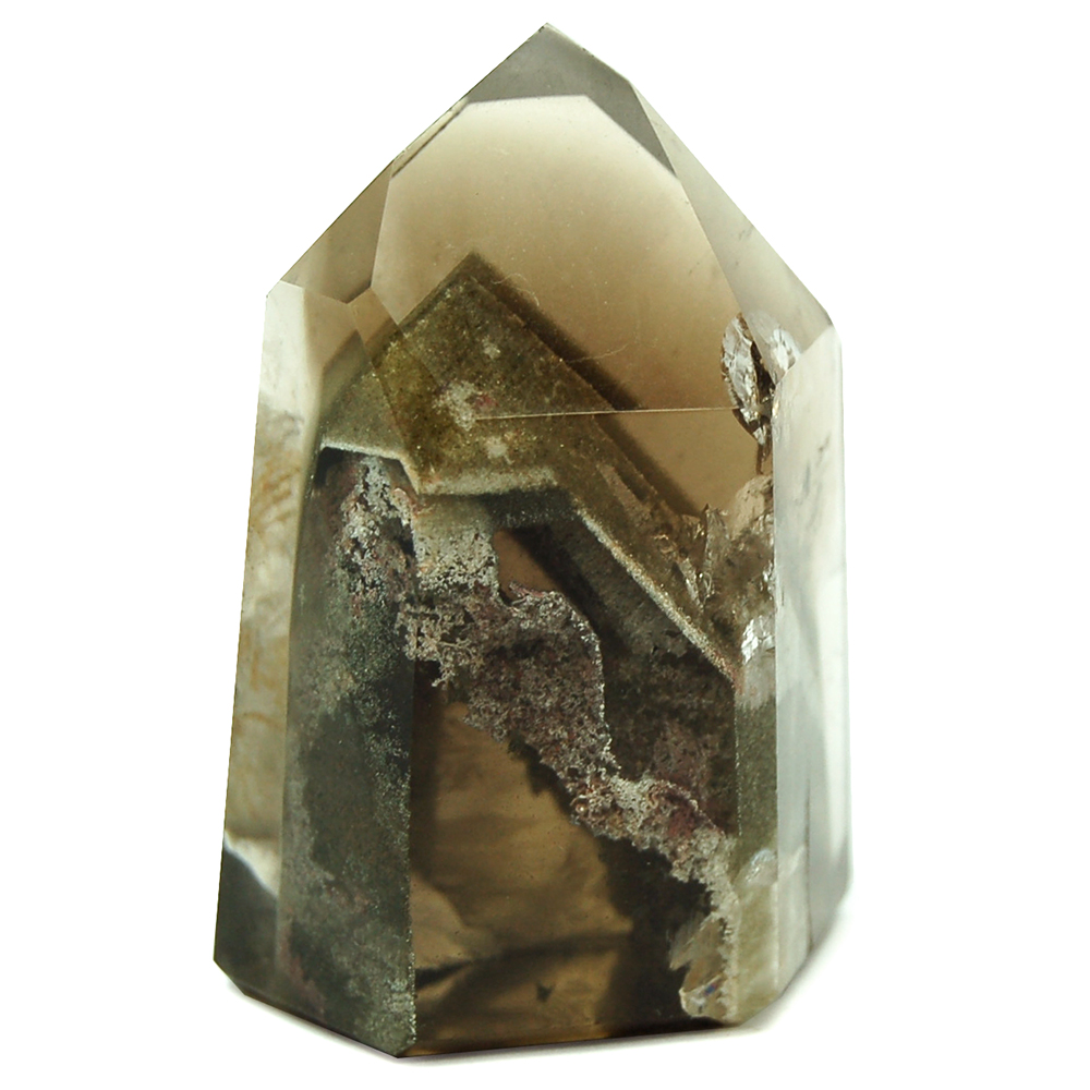 Towers - Clear Quartz Mini-Tower w/Inclusions (Brazil)