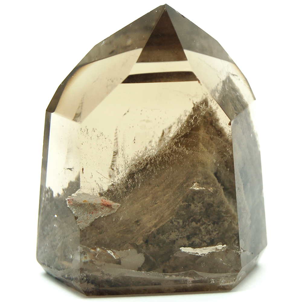Towers - Smokey Quartz Mini-Tower w/Inclusions (Brazil)