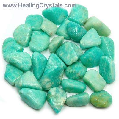 Tumbled Amazonite - (Peru) - Tumbled Stones- Amazonite - Healing ...