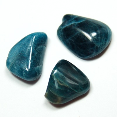 "Tumbled Apatite Crystals ""Extra"" - Tumbled Stones phot"