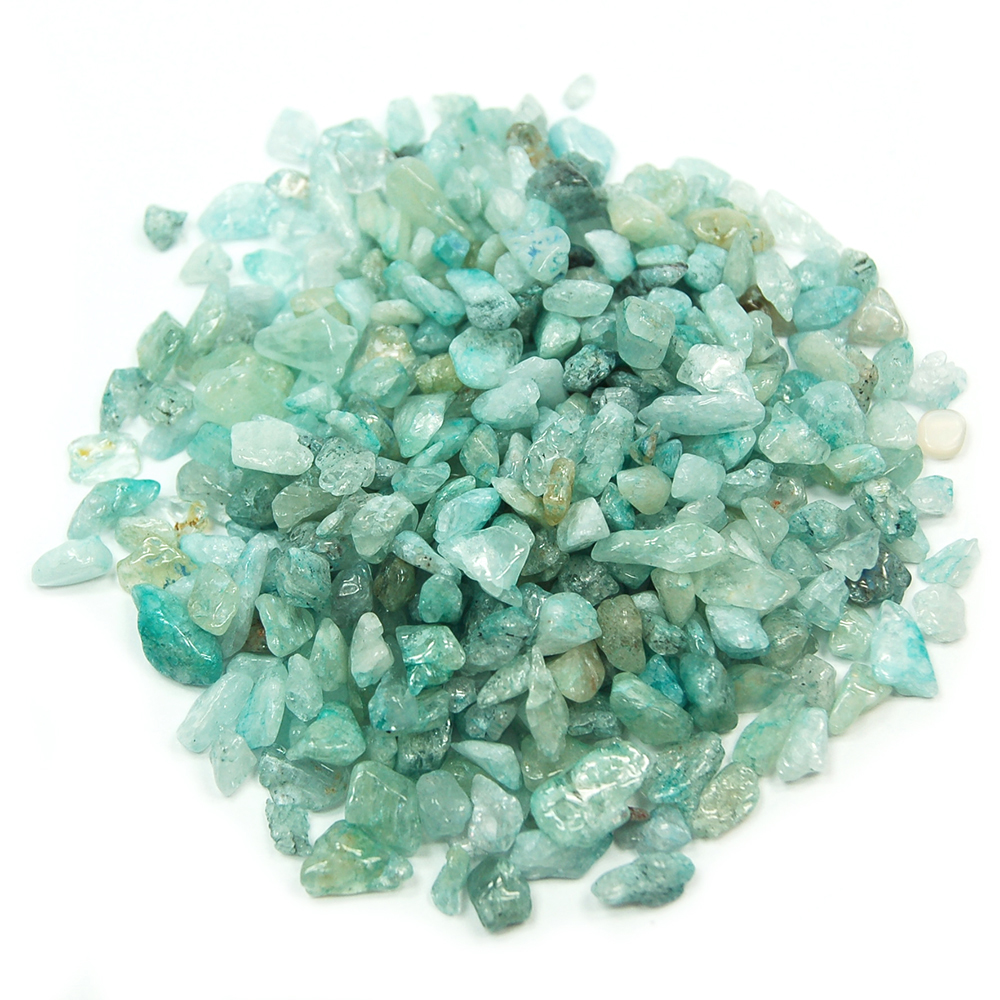 Tumbled Aquamarine Mini Chips (India)