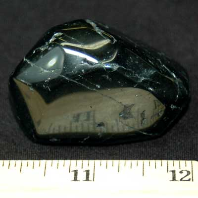Tumbled Black Tourmaline - Tumbled Stones