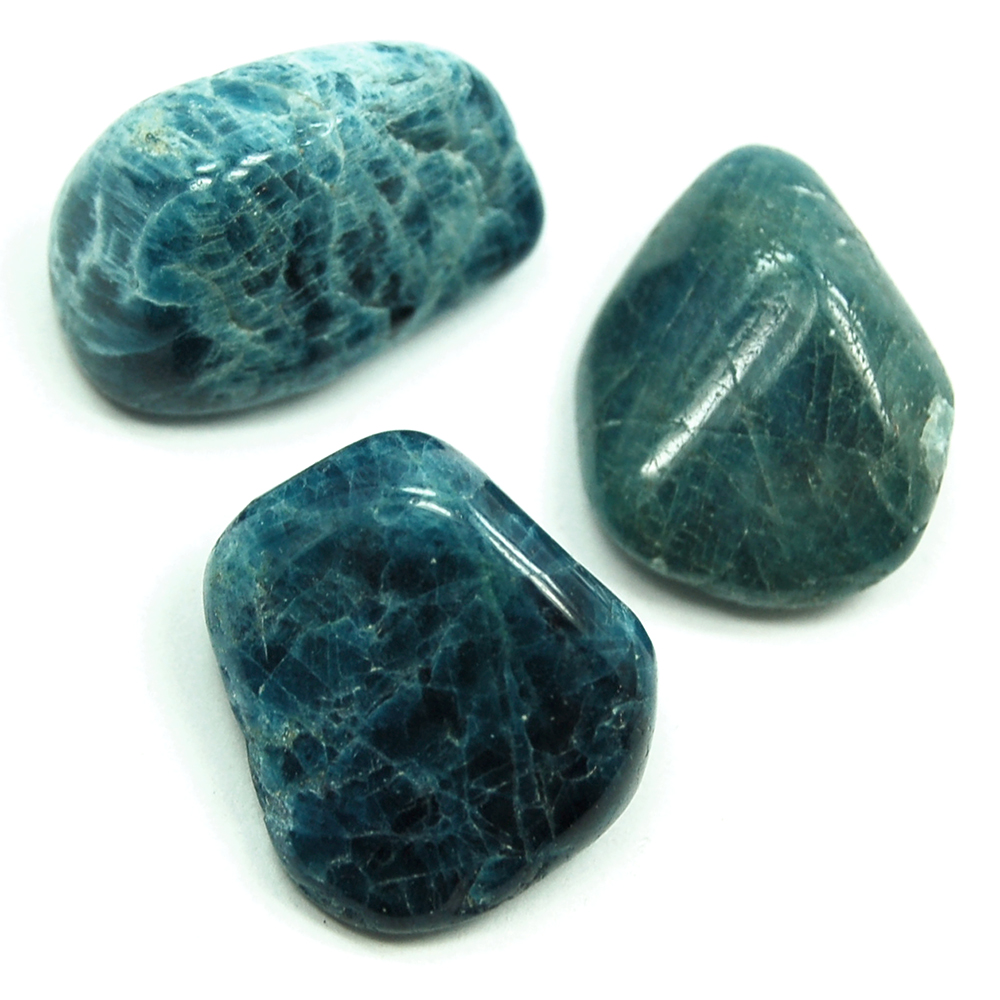Tumbled Apatite Crystals - Tumbled Stones photo 3