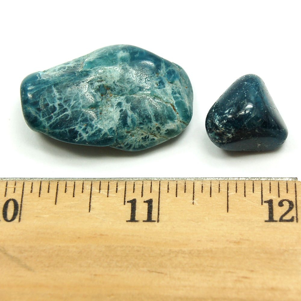 Tumbled Apatite Crystals - Tumbled Stones photo 4