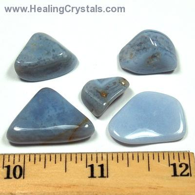 Tumbled Blue Lace Agate - Tumbled Stones photo 4