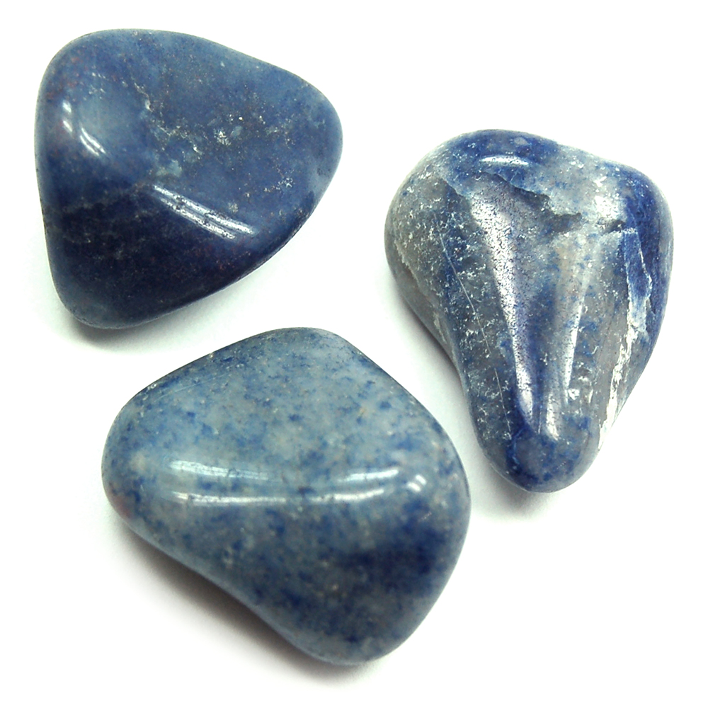 Tumbled Blue Quartz (Brazil) - Tumbled Stones photo 5