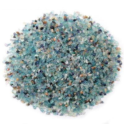 Discontinued - Tumbled Blue Topaz Mini Chips (India)