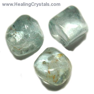 "Tumbled Blue Topaz ""Extra"" (India) - Tumbled Stones"