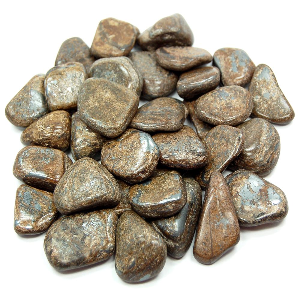 Tumbled Bronzite