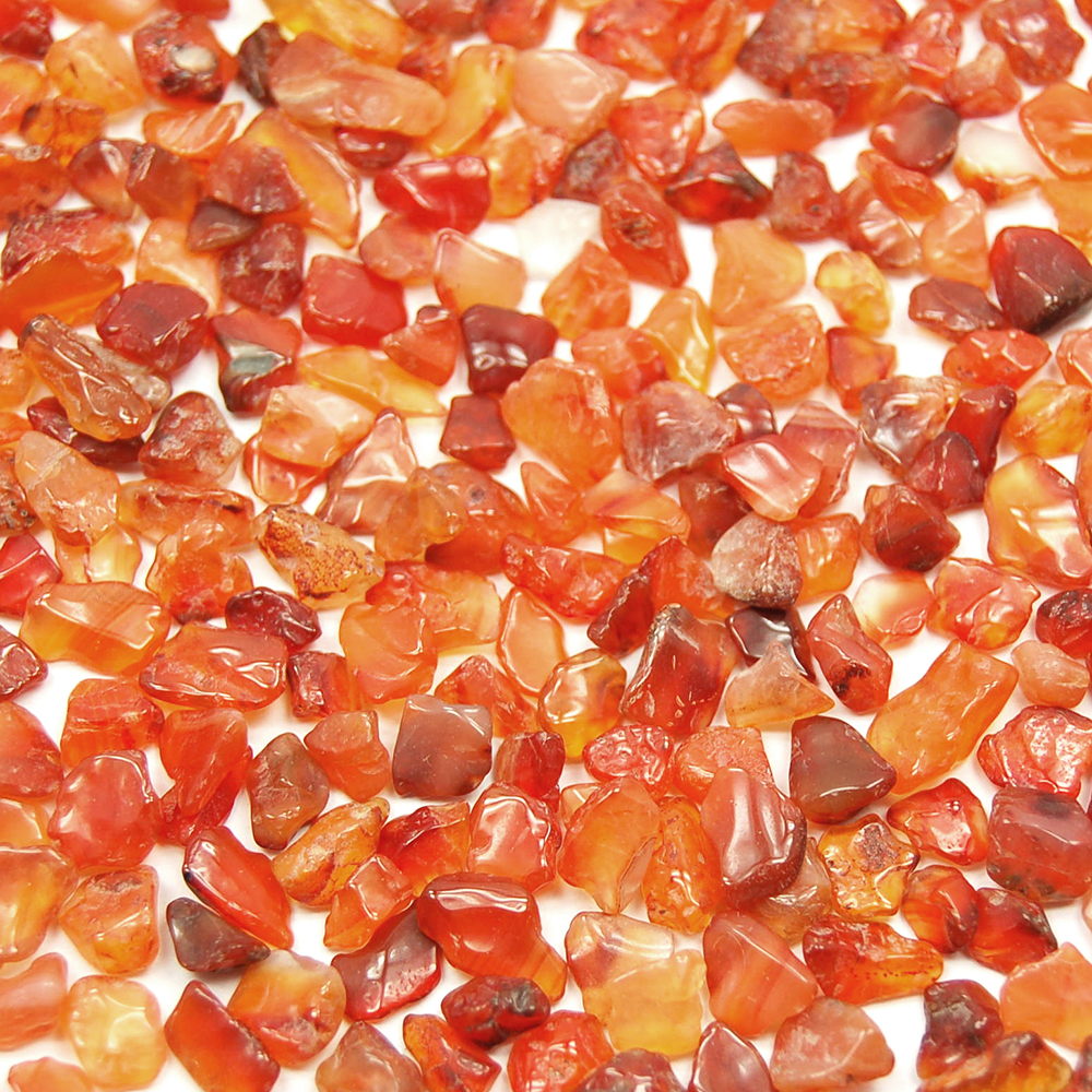 Tumbled Carnelian Mini Chips (Brazil)