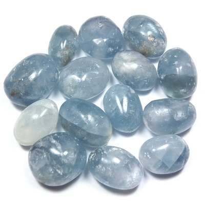 Tumbled Celestite - Hand Polished (Madagascar) - Tumbled Stones
