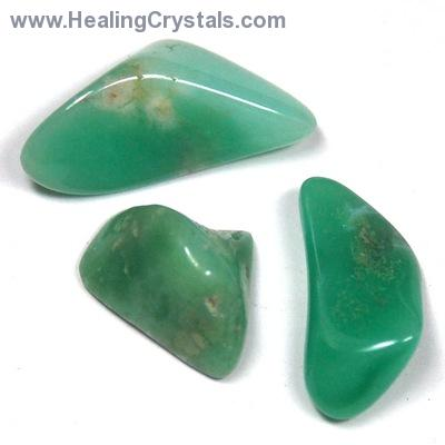 "Tumbled Chrysoprase ""Extra"" - Tumbled Stones photo 2"