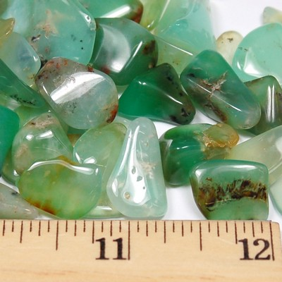 "Tumbled Chrysoprase ""Extra"" - Tumbled Stones photo 6"