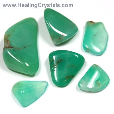 "Tumbled Chrysoprase ""Extra"" - Tumbled Stones photo 4"