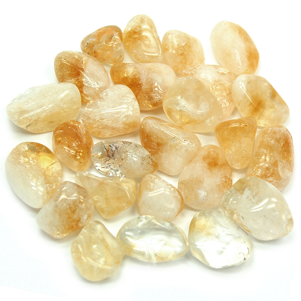 Tumbled Citrine - Tumbled Stones photo 10