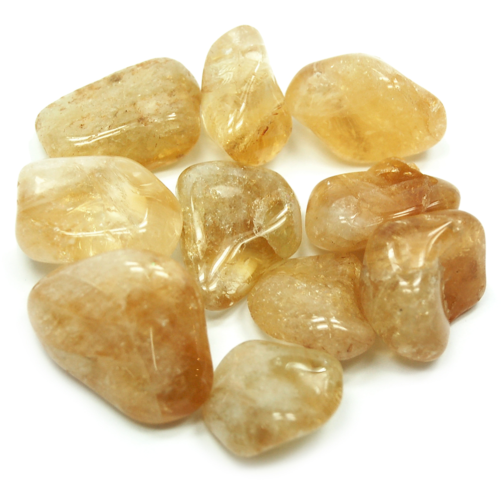 Tumbled Citrine - Tumbled Stones photo 7