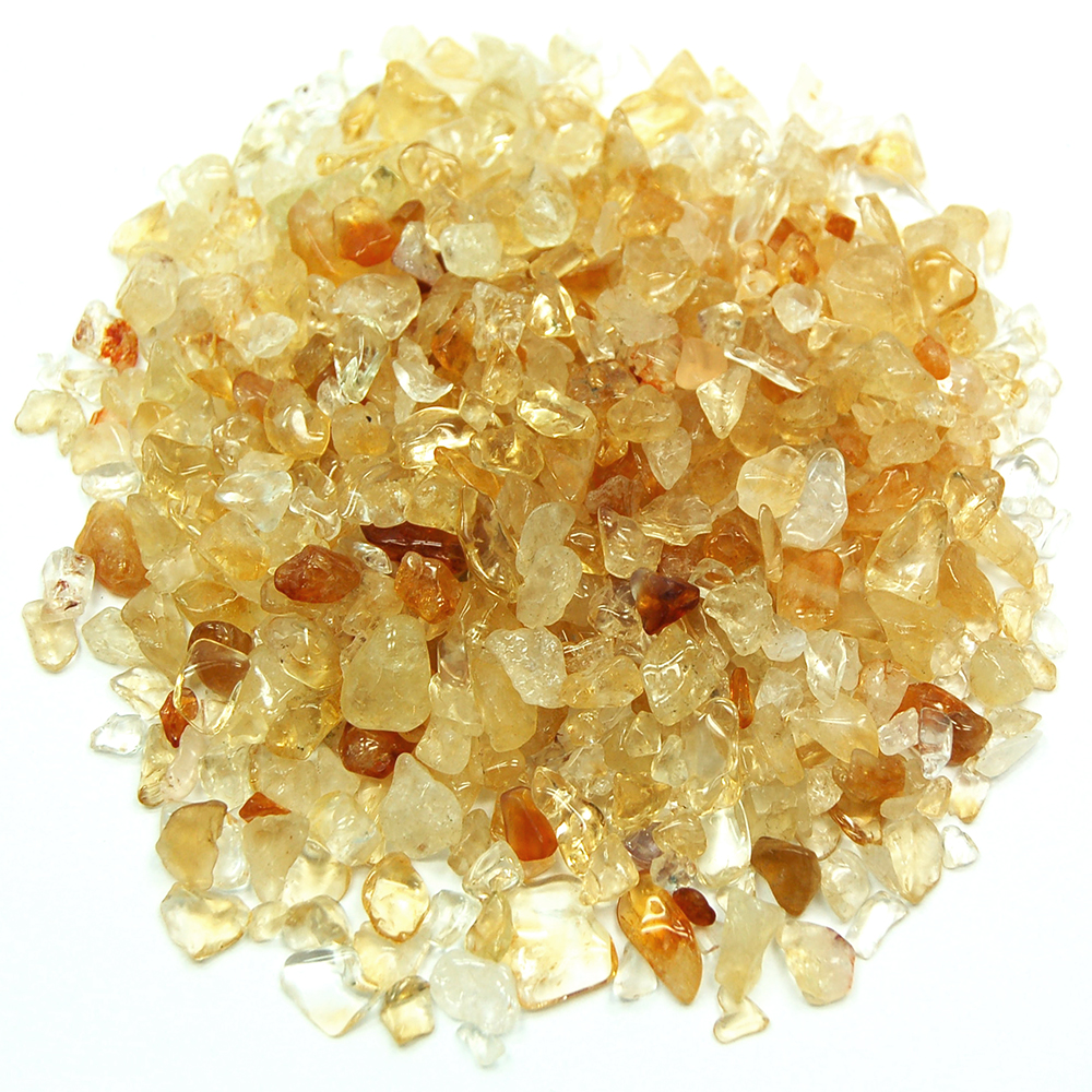 Tumbled Citrine Mini Chips (Brazil)
