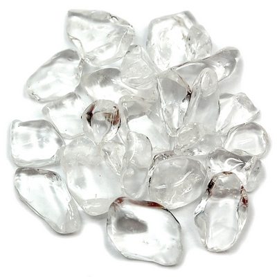 "Tumbled Clear Quartz Chips ""A\"" (India)"