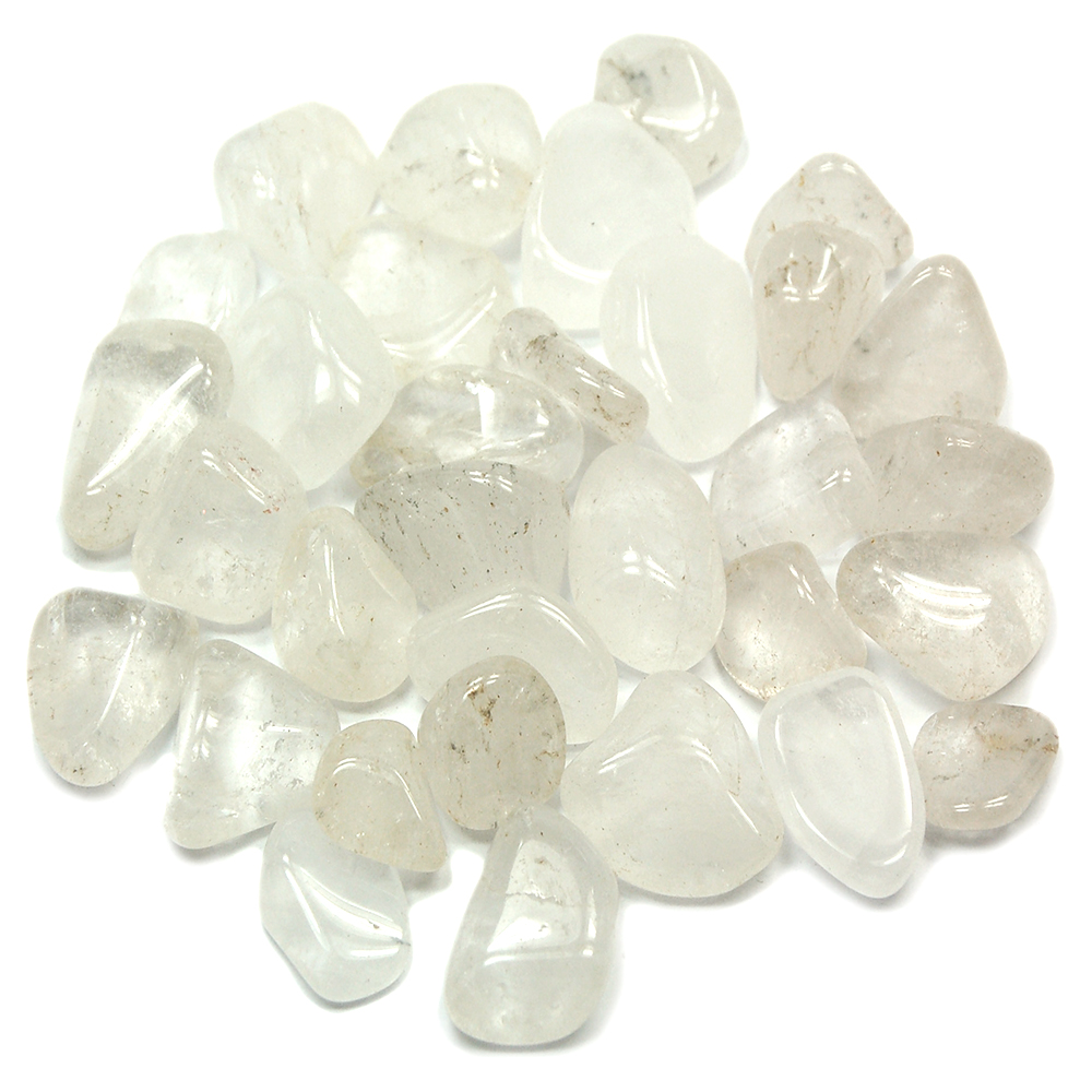 Tumbled Clear Quartz Crystal - Tumbled Stones photo 7
