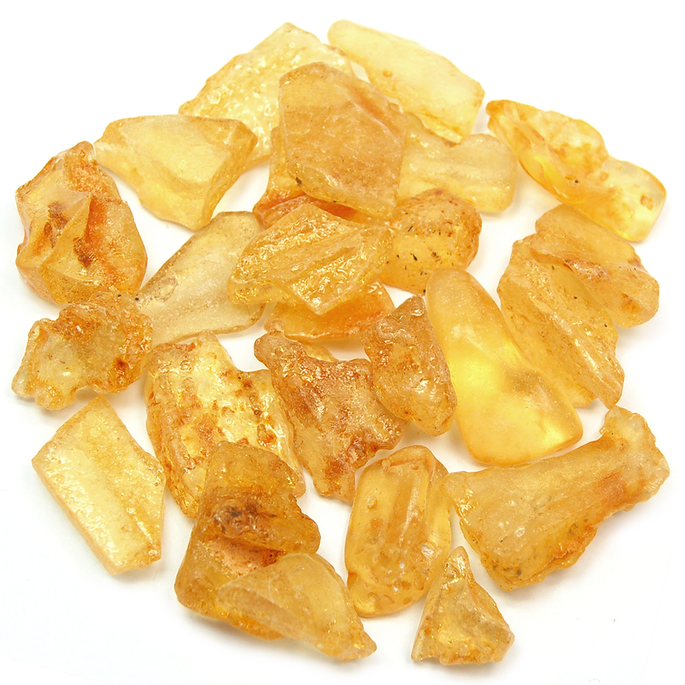 "Tumbled Copal - ""Colombian Amber\"" Extra Polish (Columbia)"