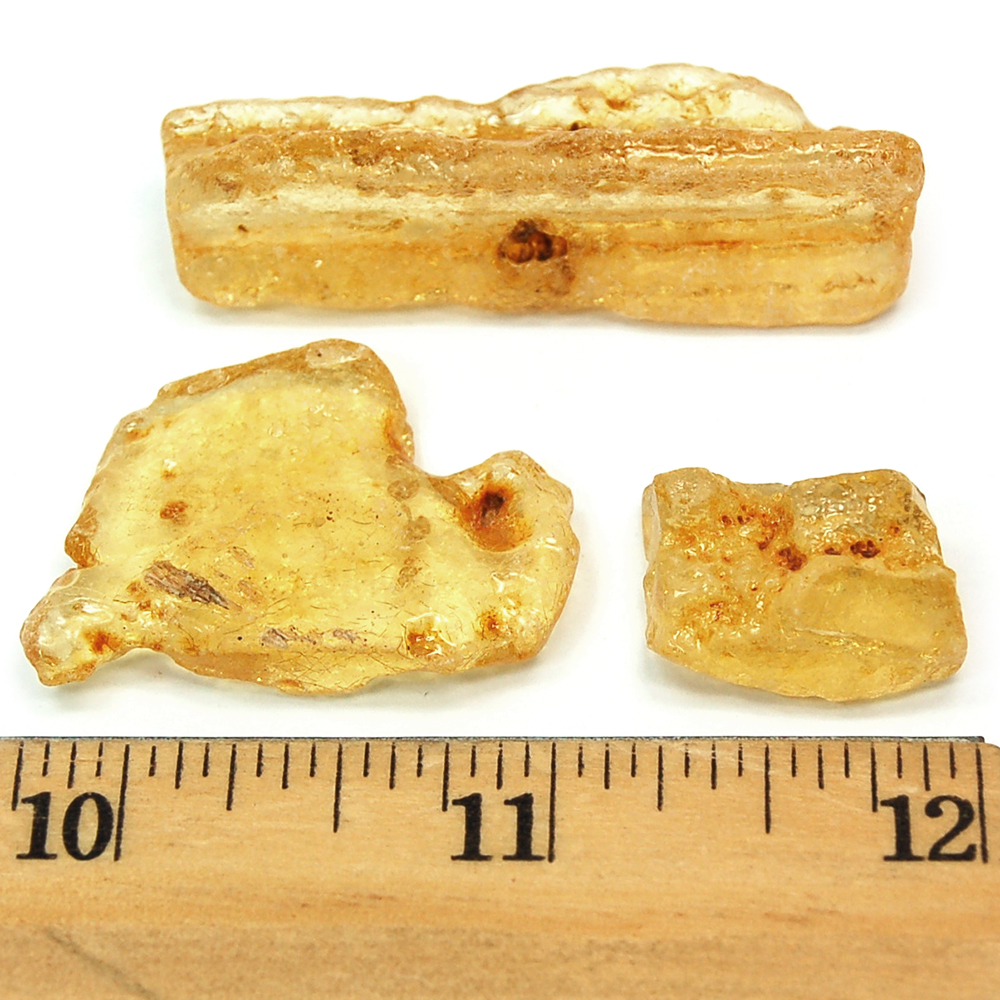 "Tumbled Copal - ""Columbian Amber"" (High Polish) photo"