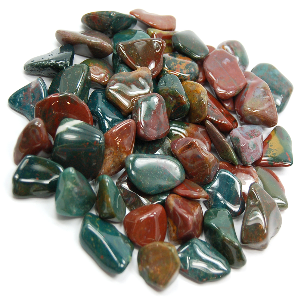 Tumbled Fancy Jasper (India) - Tumbled Stones