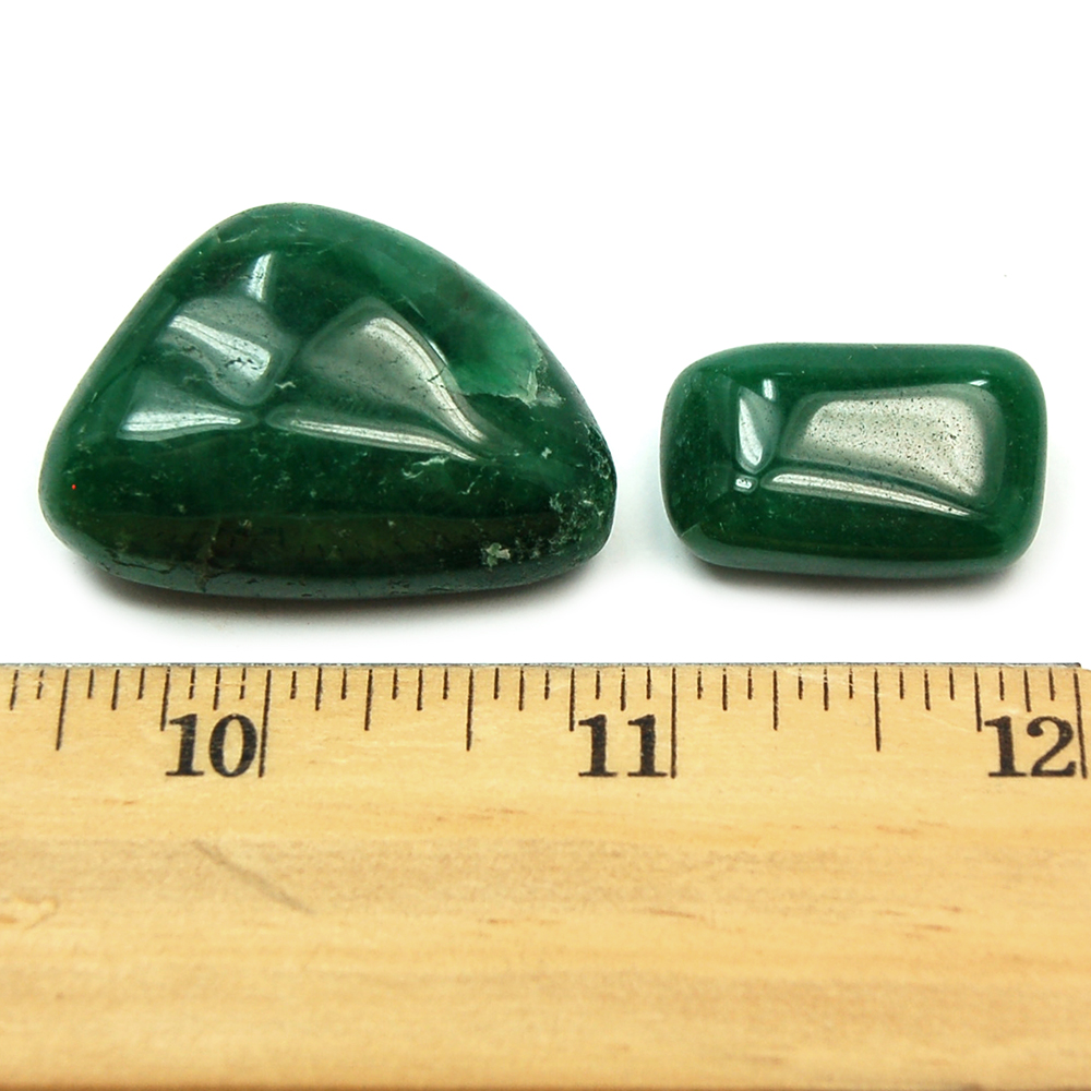 Tumbled Emerald Fuchsite (India) - Tumbled Stones photo 4